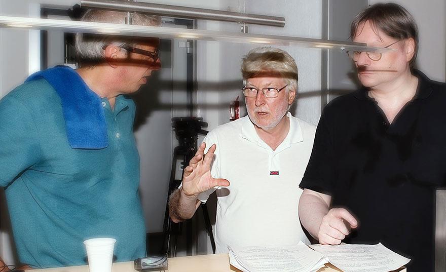 Von links: Ferdinand Fries, Rüdiger Balasus und Udo Schucker