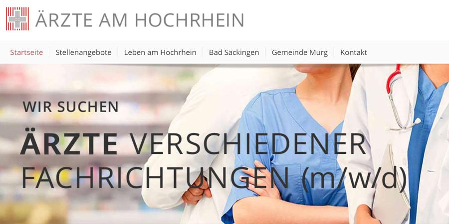 »Doc Jobs« am Hochrhein in neuem Design!
